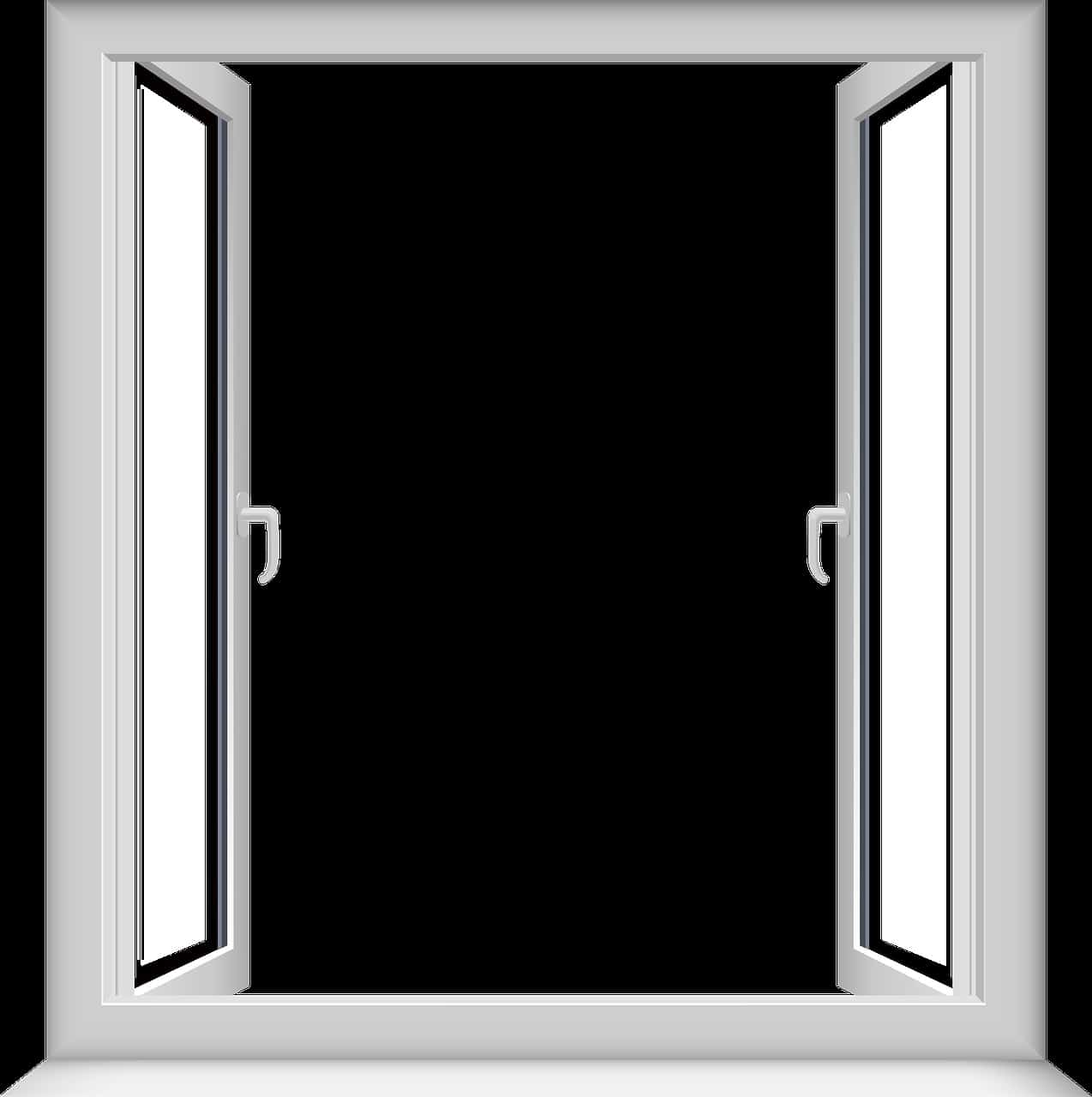 window transparent, open window, window